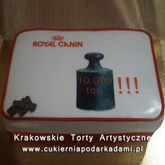 045. Tort dla producentów karmy dla zwierząt. Royal Canin cake.
