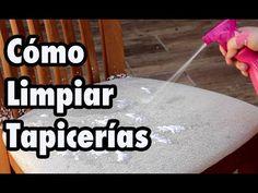 Cómo limpiar la tapicería de las sillas, del sofá o del coche - YouTube