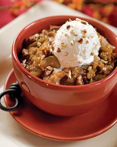 Get the recipe for Southern Lady Magazine's Pear Cobbler with Streusel Topping.