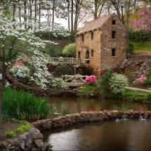 """""""The Old Mill"""" In L.R. Ar, where Scott and I were married"""