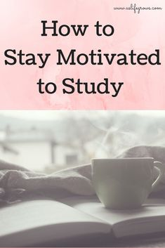 Are you trying to stay motivated to study for classes you don't like? If so…