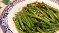 Stir Fried Garlic Green Beans with Oyster sauce recipe