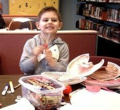 Children's Crafts at Safety Harbor Public Library Safety Harbor, Florida  #Kids #Events