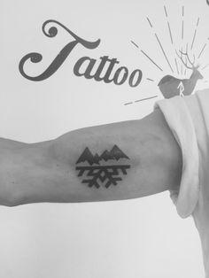 #tatoo #snow #mountain #lifestyle