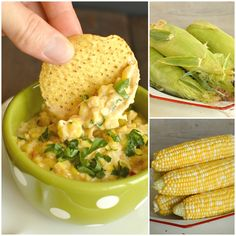 Fiesta Corn Dip is a super addicting appetizer that is loaded with fun flavors! It's extra cheesy, a little spicy, and it's always a favorite! Before we get to the Fiesta Corn Dip, I ha…