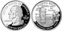 The Puerto Rico Quarter was the second release of the DC & US Territories Quarter Program. This program will honor the District of Columbia and each United States Territory with its own unique quarter design