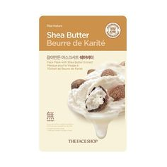 [THE FACE SHOP] Real Nature-Shea Butter (5PCS)