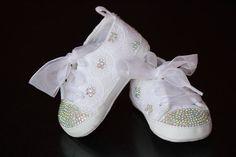 baby Swarovski Rhinestones shoes 36 month by babysdreamworld, $49.00