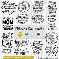 Mother's Day SVG Bundle – Mom Quotes Cut Files for Cricut & Silhouette Fathers Day Quotes, Mom Quotes, Mom Sayings, Cousin Quotes, Daughter Quotes, Father Daughter, Family Quotes, Mother's Day Projects, Vinyl Projects