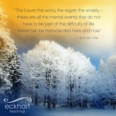 Eckhart Tolle quote from twitter