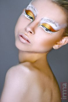 Make-up - Creative eye make-up