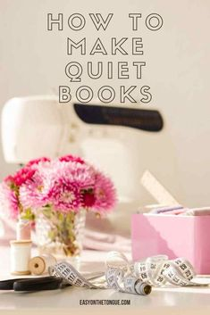 How to make quiet books, themes to use, dimensions, where to get Templates - an all in one guide.  #quietbooks #sensorybooks #activitybooks Bible Activities For Kids, Toddler Learning Activities, Bible For Kids, Infant Activities, Art And Craft, E Craft, Craft Ideas, Diy Quiet Books, Baby Quiet Book