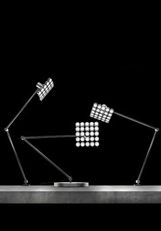maxenrich:  Projector LED table lamp, by Michael Samoriz