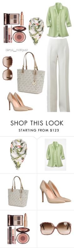 """""""Untitled #55"""" by sousou2578 on Polyvore featuring Ted Baker, Michael Kors, 8 and Charlotte Tilbury"""