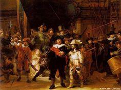 rembrant night watch   Sipsey Street Irregulars: A Celebration of Historic Dutch Militia ...