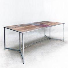 Tables & bureaux design industriel - Table industrielle 180cm - KL346 - Modèle - Meuble Loft