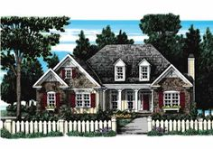 Walnut Grove - Home Plans and House Plans by Frank Betz Associates #walnutgrove #homeplans #frankbetz  #floorplans #capecod