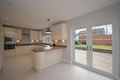5 bedroom detached villa for sale in 40 Fairway View, Prestwick, - Rightmove. Small Open Plan Kitchens, Open Plan Kitchen Dining Living, Kitchen Diner Extension, Open Plan Kitchen Diner, Living Room Kitchen, Kitchen Room Design, Home Decor Kitchen, Interior Design Kitchen, Howdens Kitchens