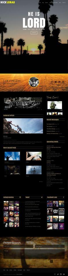 Website built using Divi by ElegantThemes WordPress