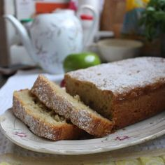 Budín de manzana y avena / Ponete el Delantal - Blog de cocina Cake Recipes, Vegan Recipes, Pan Dulce, Sin Gluten, Cakes And More, Carrot Cake, Banana Bread, Bakery, Tasty