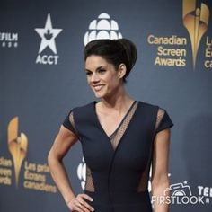 Missy Peregrym arrives at the... | Celebrities | FirstLook Celebrity Photos