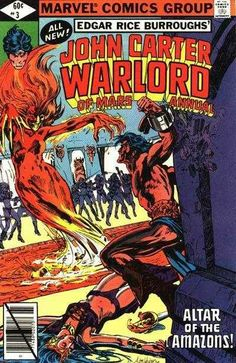 21 best marvel comics john carter warlord of mars images on while defending a woman john carter is trapped by klys and her amazon cohorts who fandeluxe Images