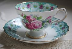 Rosina China Tea Cup and Saucer