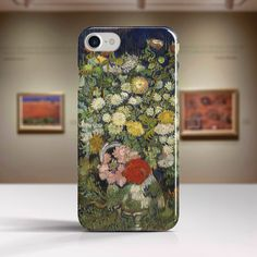 "Vincent Van Gogh, ""Bouquet of Flowers in a Vase"". iPhone 6 Case Art iPhone 7 Case iPhone 8 Plus Case and more. iPhone 6 TOUGH cases. by artpointone on Etsy https://www.etsy.com/listing/518975999/vincent-van-gogh-bouquet-of-flowers-in-a"