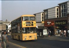 """BHS, Etam, Our Price and """"Southern Girl"""". Spoilt for choice in Bournemouth, no wonder they had to lay on extra buses. Bus Coach, Bournemouth, Busses, Chevrolet Trucks, Coaches, Hampshire, Centre, Transportation, British"""