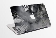 Macbook Decal / Creative Sticker for Computer / City Design / Apple Logo 756.836.248