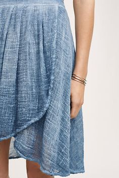 Gauze Swing Skirt: this looks so comfy and breezy