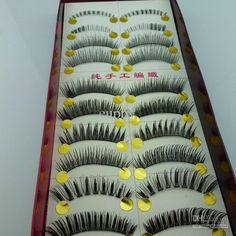 Wholesale False Eyelashes - Buy Natural Fake Eyelashes Handmade False Eyelashes Eyeholes 2 Under Eyelash A010, $0.59 | DHgate