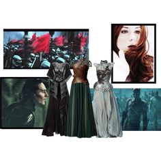 """Loki and Sigyn II"" by hellzbelle on Polyvore  <--- Loki- and Sigyn-inspired fashion."