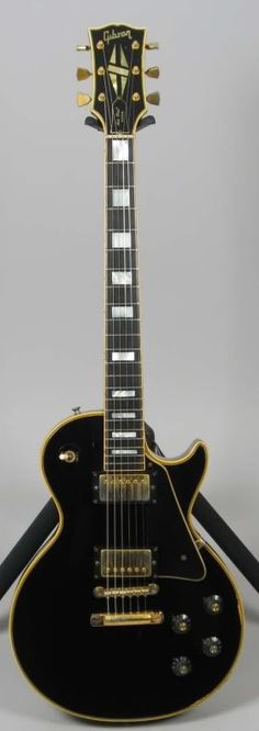 1970 Gibson Les Paul Custom.