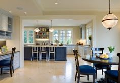 How makes light over breakfast table?  Classic Seattle 4 Square Residence traditional kitchen
