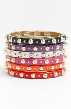 Sequin Hinged Bangle available at #Nordstrom  I'll take one of these too!!