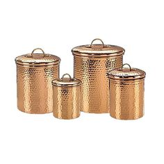 4 Piece Camilli Canister Set