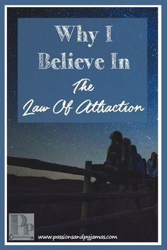 I know not everyone believes in the Law of Attraction, but I do! I'm explaining why in my blog post. Come on over to read it! :)