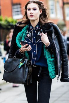 Vera Van Erp at London Fashion Week F/W 16