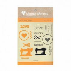Diamond press - Stamp and dies Handmade