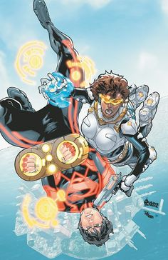 Superboy - Law and Disorder. Jocelyn Lure abducts Kon-El because he is breaking the law.
