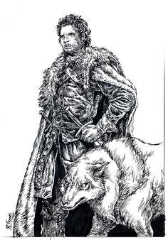 King of the North by ricardoafranco.deviantart.com on @DeviantArt
