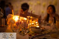 Reception by candlelight  http://belleweddings.tumblr.com/