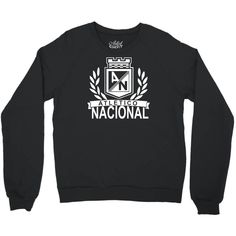 Are you ready for atletico nacional colombia medellin futbol soccer crewneck sweatshirt by ronandi. get this great custom sweatshirt in different colors and sizes. buy your new sweatshirt right now at artistshot. Crew Sweatshirts, Crew Neck Sweatshirt, Cali Colombia, Gifts For My Boyfriend, Workout Shirts, Cool Shirts, Really Cool Stuff, Play Hard, Soccer