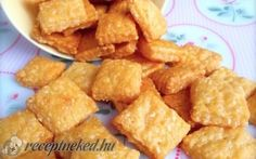 Passion cream and coconut biscuits - HQ Recipes Croatian Recipes, Hungarian Recipes, My Recipes, Snack Recipes, Cooking Recipes, Coconut Biscuits, Savory Pastry, Salty Snacks, Biscuit Recipe