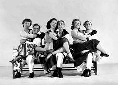 Betty Garrett & Frank Sinatra,Jules Munshin & Ann Miller, Gene Kelly & Vera Ellen (On the town - 1949)