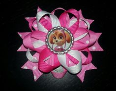 Paw patrol Skye hairbow also minnie mouse lalaloopsy by bellecaps, $4.75