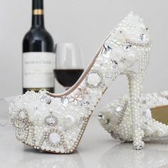Fashion Designer Womens Silver Rhinestone High Stilettos Heels Spring Wedding Prom Dress Party Occasions Pumps Shoes