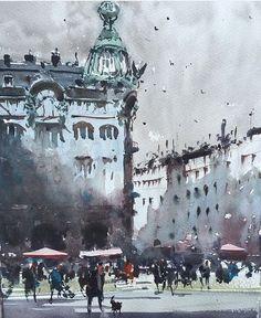 Image result for joseph zbukvic watercolor
