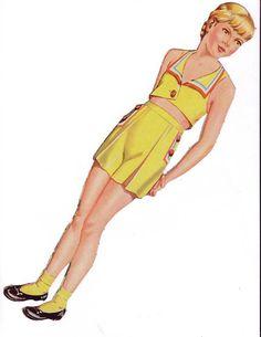 Juniors 1945 Saalfield #2483 - Bobe Green - Álbuns da web do Picasa